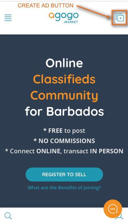 signing up for Agogo Market