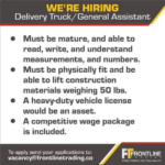 Delivery Truck/ General Assistant, Barbados, Jobs