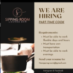 Cook, Part-time, Jobs, Barbados