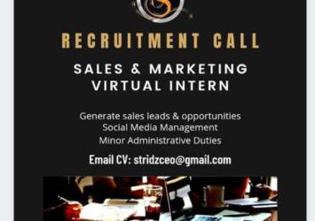 Sales & Marketing Intern, Job, Barbados