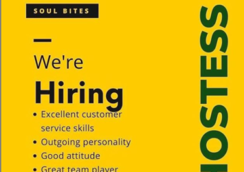 Soul Bites, Hostess, Barbados, Jobs