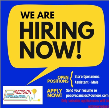 Store Operations Assistant, Barbados, Jobs
