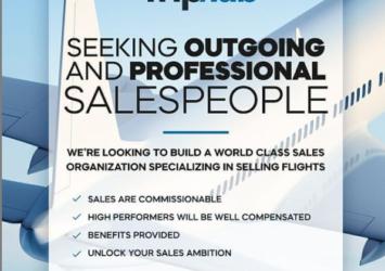 Salesperson, Triphub, Barbados, Jobs