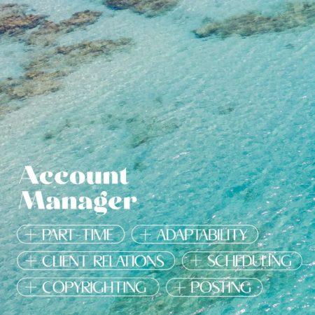 Account Manager Job, Barbados