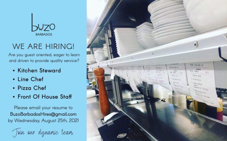 Buzo Jobs, Barbados