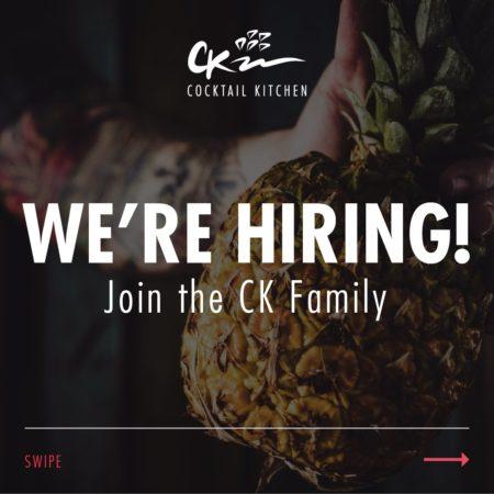 Cocktail Kitchen, Barbados, Jobs