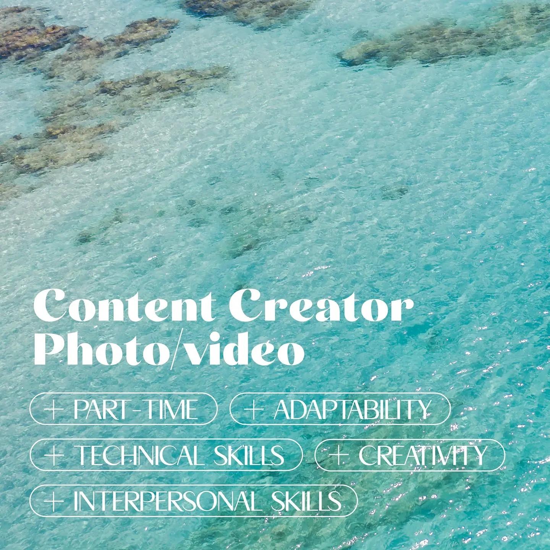 Content Creator Job, Barbados
