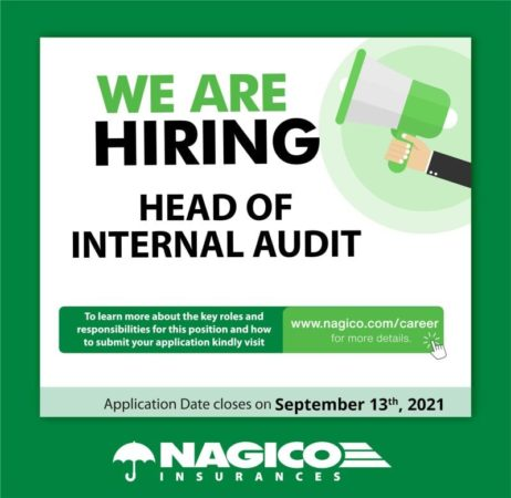 Head of Internal Audit