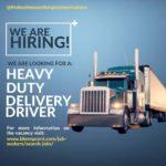 Heavy Duty Delivery Driver Job, Barbados