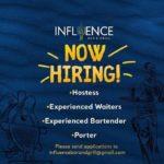 Influence, Barbados, Jobs