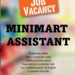 Minimart Assistant, Barbados, Jobs