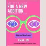Optical Assistant Job, Barbados