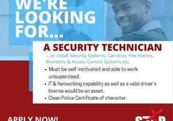 Security Technician Job, Barbados