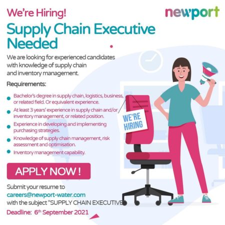 Supply Chain Executive job in Barbados