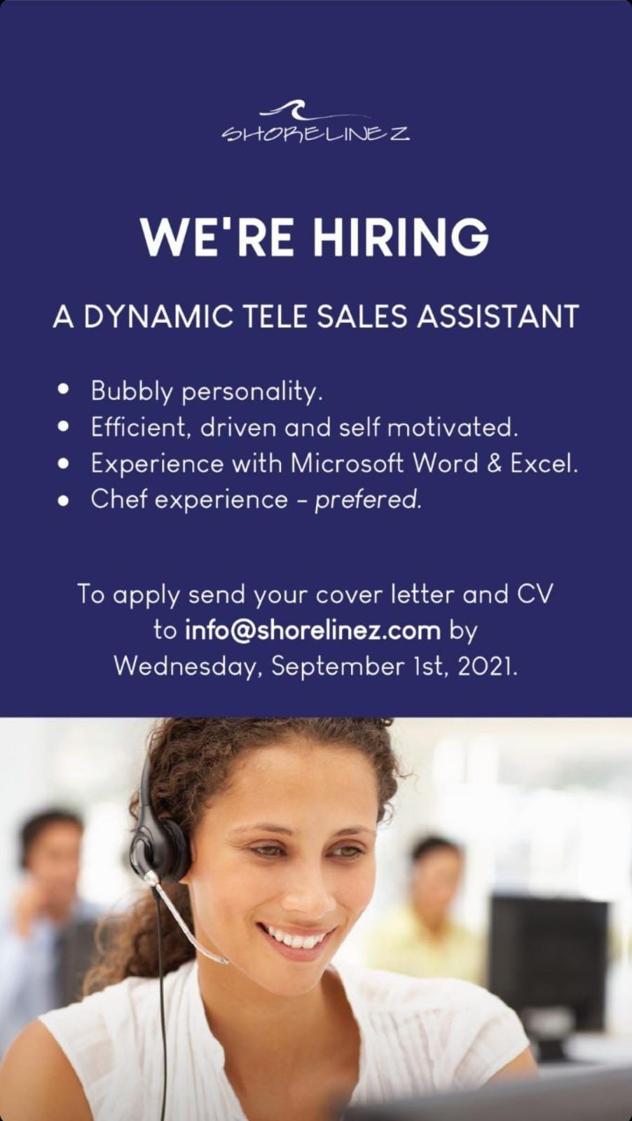 Tele Sales Assistant Job, Barbados