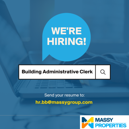 Building administrative clerk job in Barbados