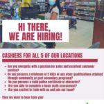 Cashiers job in Barbados