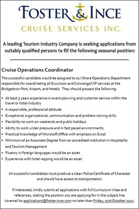 job listing in barbados