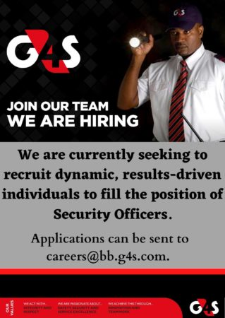 Security officer job in Barbados