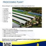 Job at Processing Plant in Barbados
