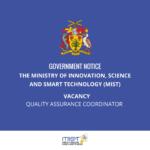 Quality Assurance Coordinator job in Barbados