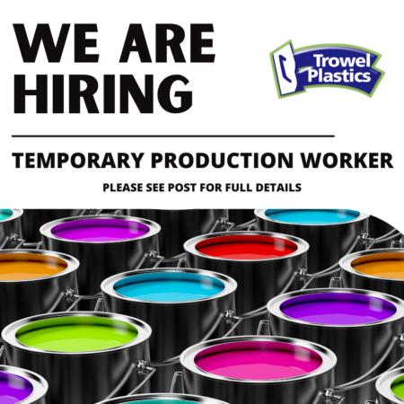Temporary job at Trowel Plastics in Barbados