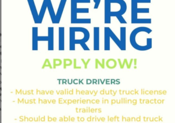Truck driver job in Barbados