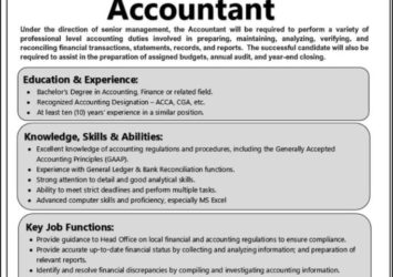 accountant job barbados