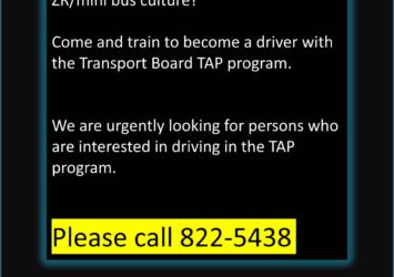 bus driver job barbados