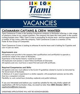 job positions in Barbados