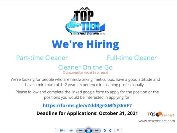 cleaning job barbados