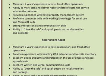 hotel job barbados