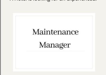 manager job barbados