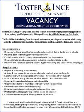 Social Media job in Barbados