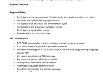 web developer job barbados